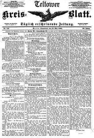 Teltower Kreisblatt vom 18.05.1895