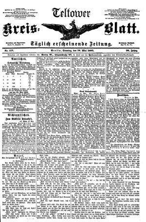 Teltower Kreisblatt vom 19.05.1895