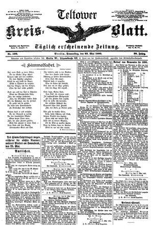 Teltower Kreisblatt vom 23.05.1895