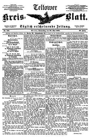 Teltower Kreisblatt vom 30.05.1895