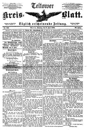 Teltower Kreisblatt vom 02.06.1895