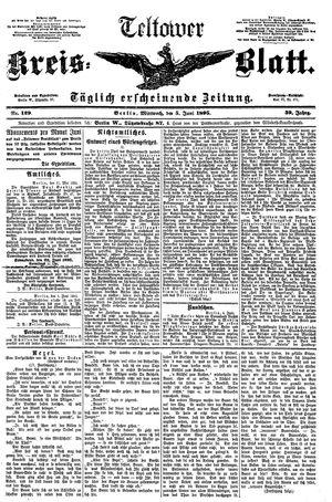 Teltower Kreisblatt vom 05.06.1895