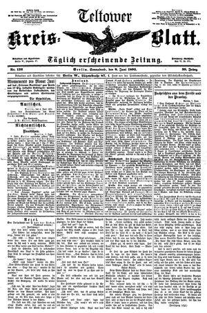 Teltower Kreisblatt vom 08.06.1895
