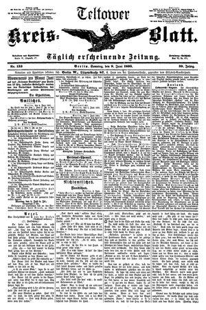 Teltower Kreisblatt vom 09.06.1895