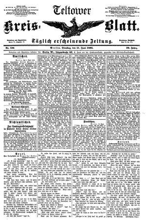 Teltower Kreisblatt vom 11.06.1895