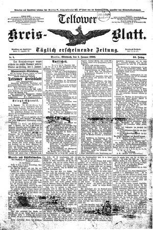 Teltower Kreisblatt vom 01.01.1896