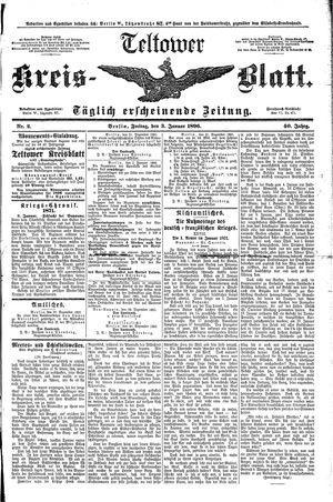 Teltower Kreisblatt on Jan 3, 1896