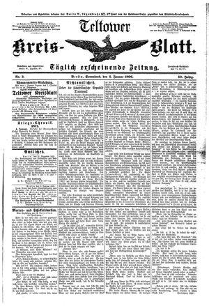 Teltower Kreisblatt vom 04.01.1896