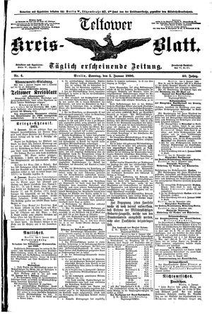 Teltower Kreisblatt vom 05.01.1896