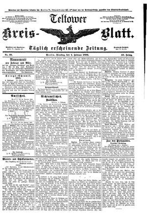 Teltower Kreisblatt vom 04.02.1896