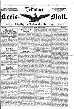 Teltower Kreisblatt vom 06.02.1896
