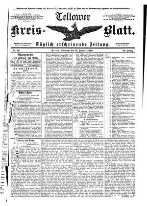 Teltower Kreisblatt vom 12.02.1896