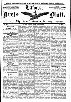 Teltower Kreisblatt on Feb 23, 1896