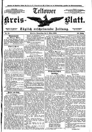 Teltower Kreisblatt vom 05.03.1896