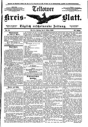 Teltower Kreisblatt vom 06.03.1896