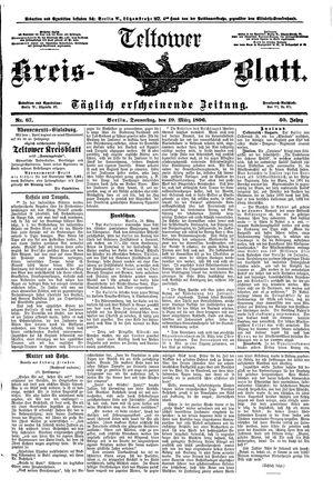Teltower Kreisblatt vom 19.03.1896