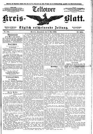 Teltower Kreisblatt vom 02.05.1896