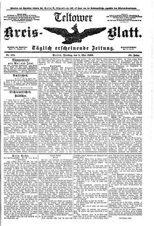 Teltower Kreisblatt vom 05.05.1896
