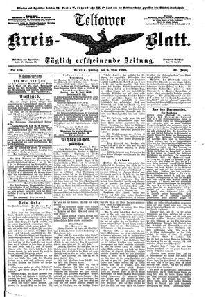 Teltower Kreisblatt vom 08.05.1896