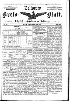 Teltower Kreisblatt vom 12.05.1896