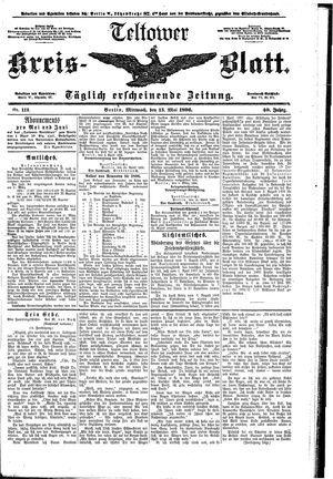 Teltower Kreisblatt on May 13, 1896