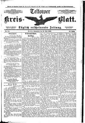Teltower Kreisblatt on May 16, 1896