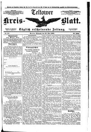 Teltower Kreisblatt vom 20.05.1896