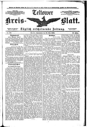 Teltower Kreisblatt vom 23.05.1896
