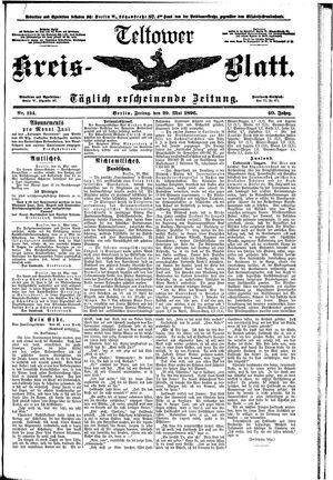 Teltower Kreisblatt vom 29.05.1896