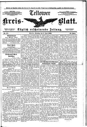 Teltower Kreisblatt vom 02.06.1896