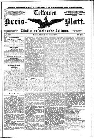 Teltower Kreisblatt vom 03.06.1896