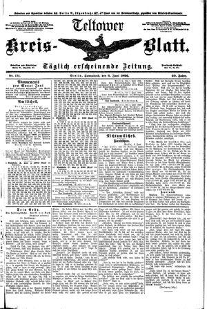 Teltower Kreisblatt on Jun 6, 1896