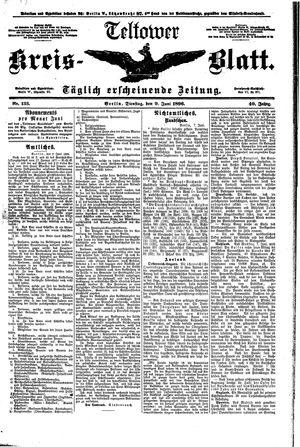 Teltower Kreisblatt vom 09.06.1896