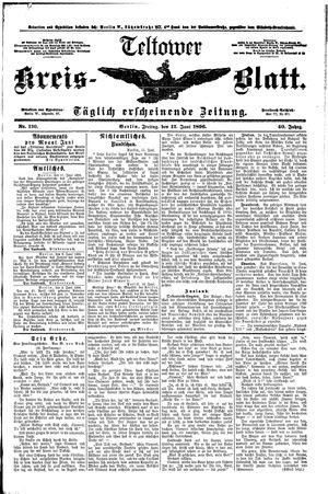 Teltower Kreisblatt on Jun 12, 1896