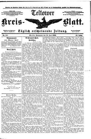 Teltower Kreisblatt vom 13.06.1896