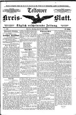 Teltower Kreisblatt vom 16.06.1896