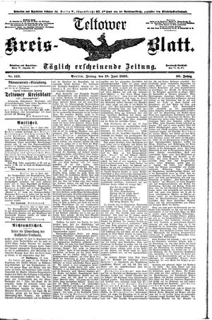 Teltower Kreisblatt vom 19.06.1896