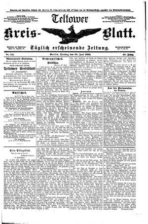 Teltower Kreisblatt vom 30.06.1896