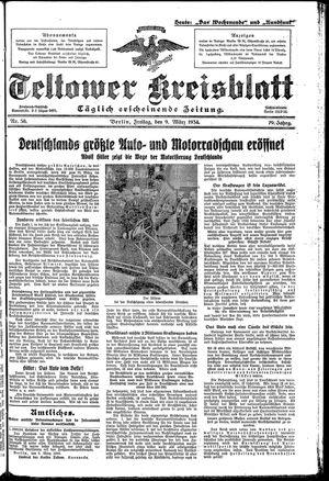 Teltower Kreisblatt on Mar 9, 1934