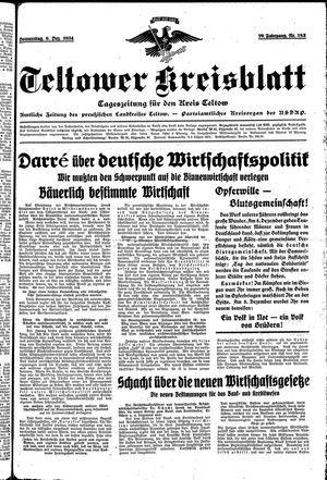 Teltower Kreisblatt vom 06.12.1934