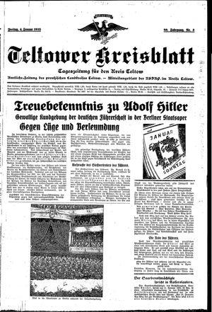 Teltower Kreisblatt vom 04.01.1935