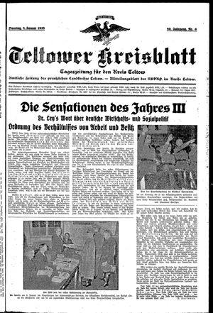 Teltower Kreisblatt vom 08.01.1935
