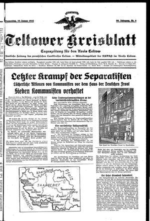 Teltower Kreisblatt vom 10.01.1935