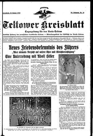 Teltower Kreisblatt vom 19.01.1935