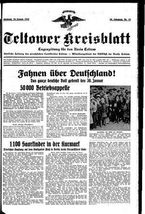 Teltower Kreisblatt vom 30.01.1935
