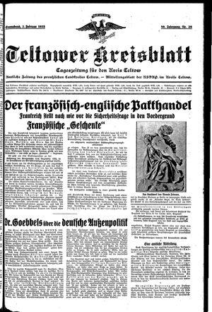 Teltower Kreisblatt on Feb 2, 1935