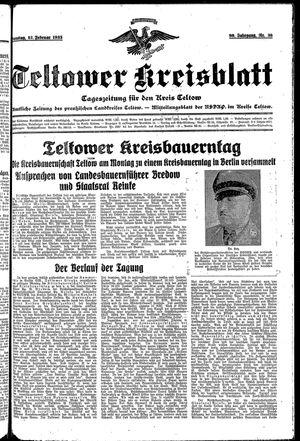 Teltower Kreisblatt on Feb 12, 1935