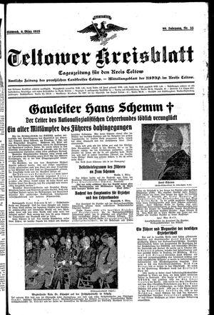 Teltower Kreisblatt vom 06.03.1935