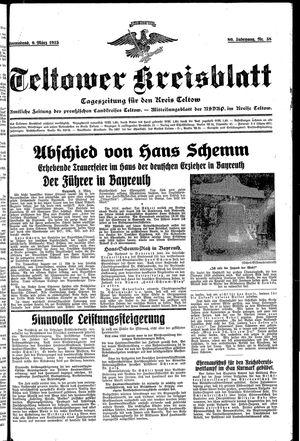 Teltower Kreisblatt vom 09.03.1935