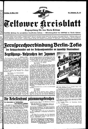 Teltower Kreisblatt vom 12.03.1935